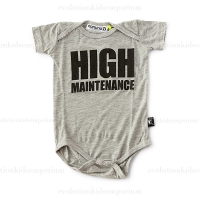 Nununu High Maintenance Onesie