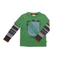Fore!! Axel & Hudson Leaf L/S Flock Crest 2-Fer Shirt