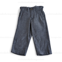Blu Poney Black Herringbone Herbert H. Pants