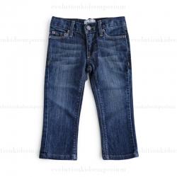 La Miniatura Vintage Dark Indigo Straight Leg Jeans