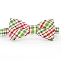 Urban Sunday Holiday Plaid Bow Tie