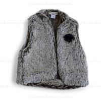 Eliane et Lena Lama Faux Fur Vest