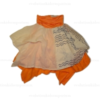 Neve / Hawk Coral Billow Bustle Dress