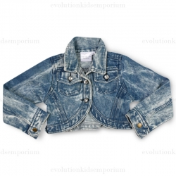 Ooh! La, La! Couture Denim Cropped Jacket
