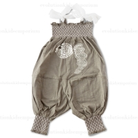 LoFff Grey Fish Romper
